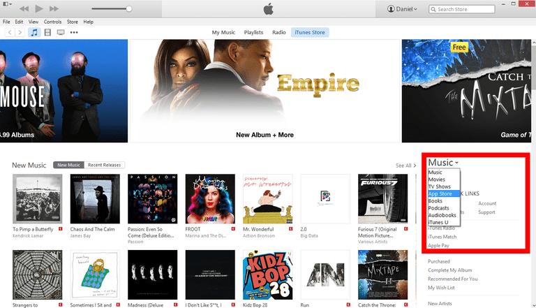 iTunes Store Screenshot