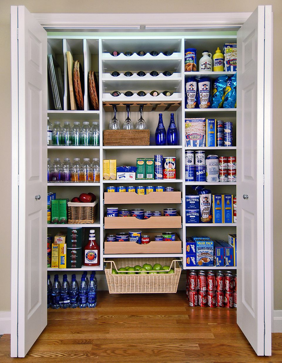 Design Pantry Ideas pantry ideas to help you organize your kitchen a large all white pantry