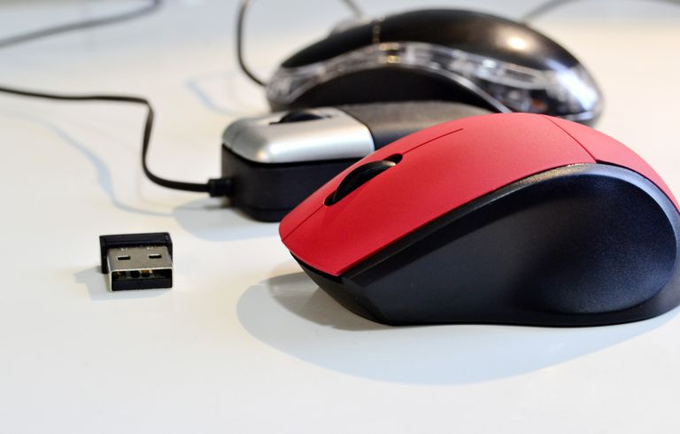 Different types of computer mice