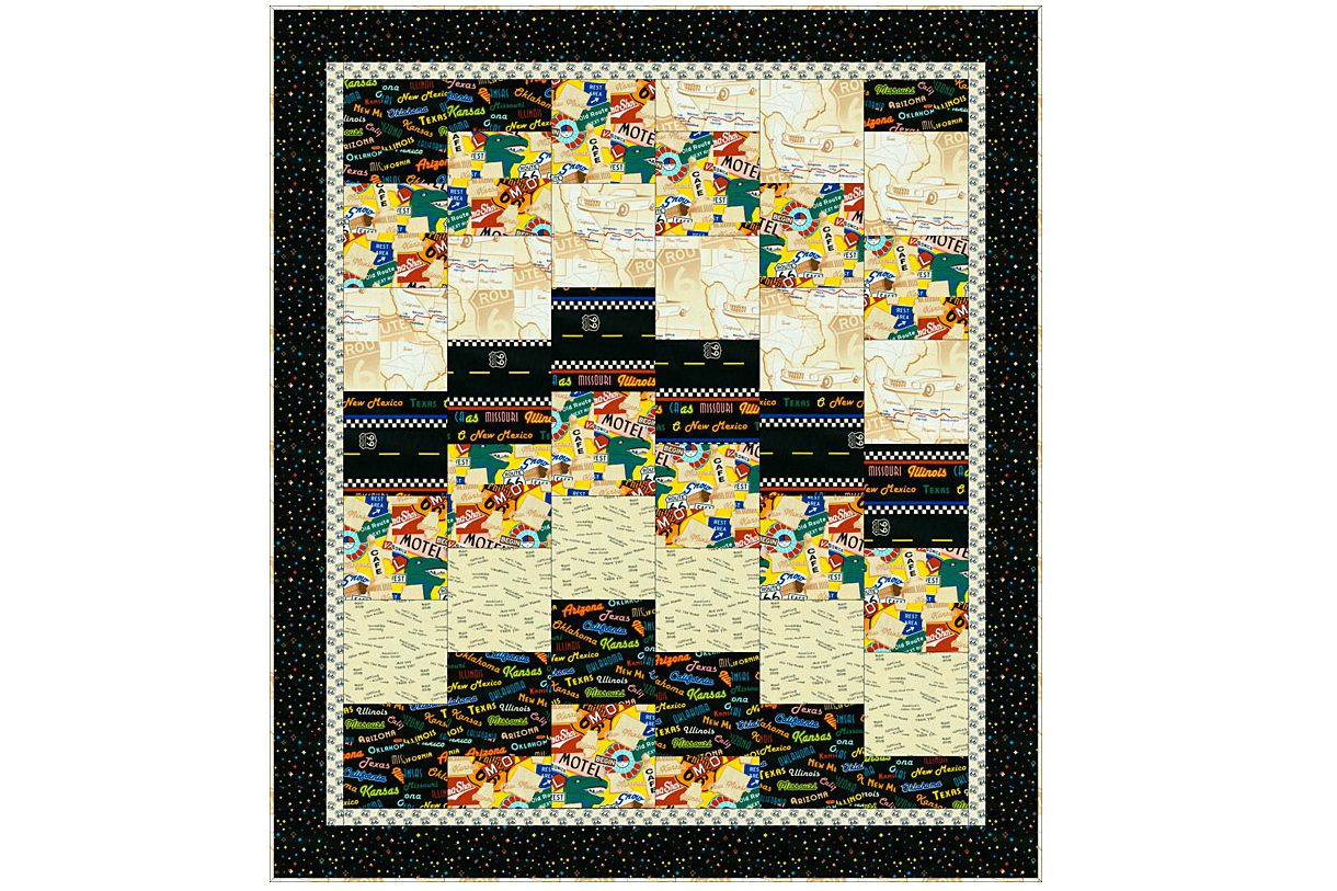 Try This Easy Strippy Set Baby Quilt Pattern