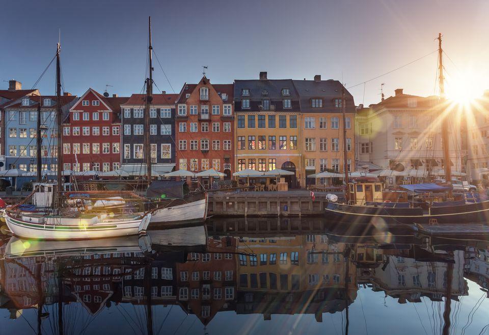 Copenhagen at sunrise