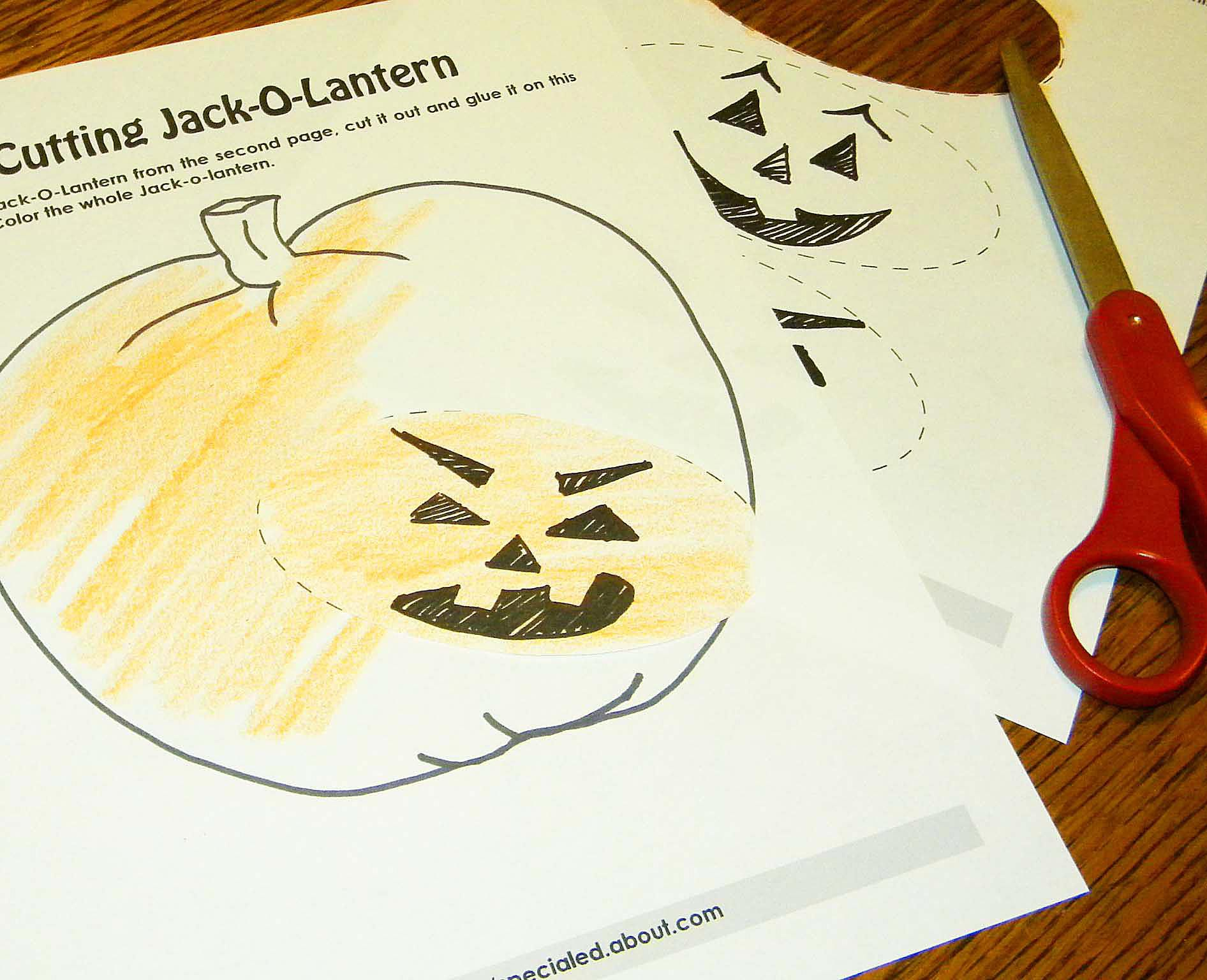 halloween resources for special education and inclusion classes