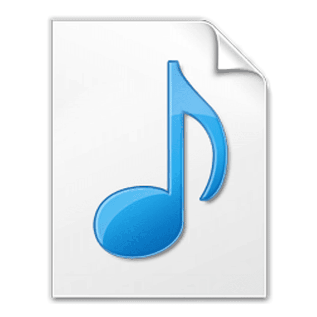 Picture of the M4R file icon