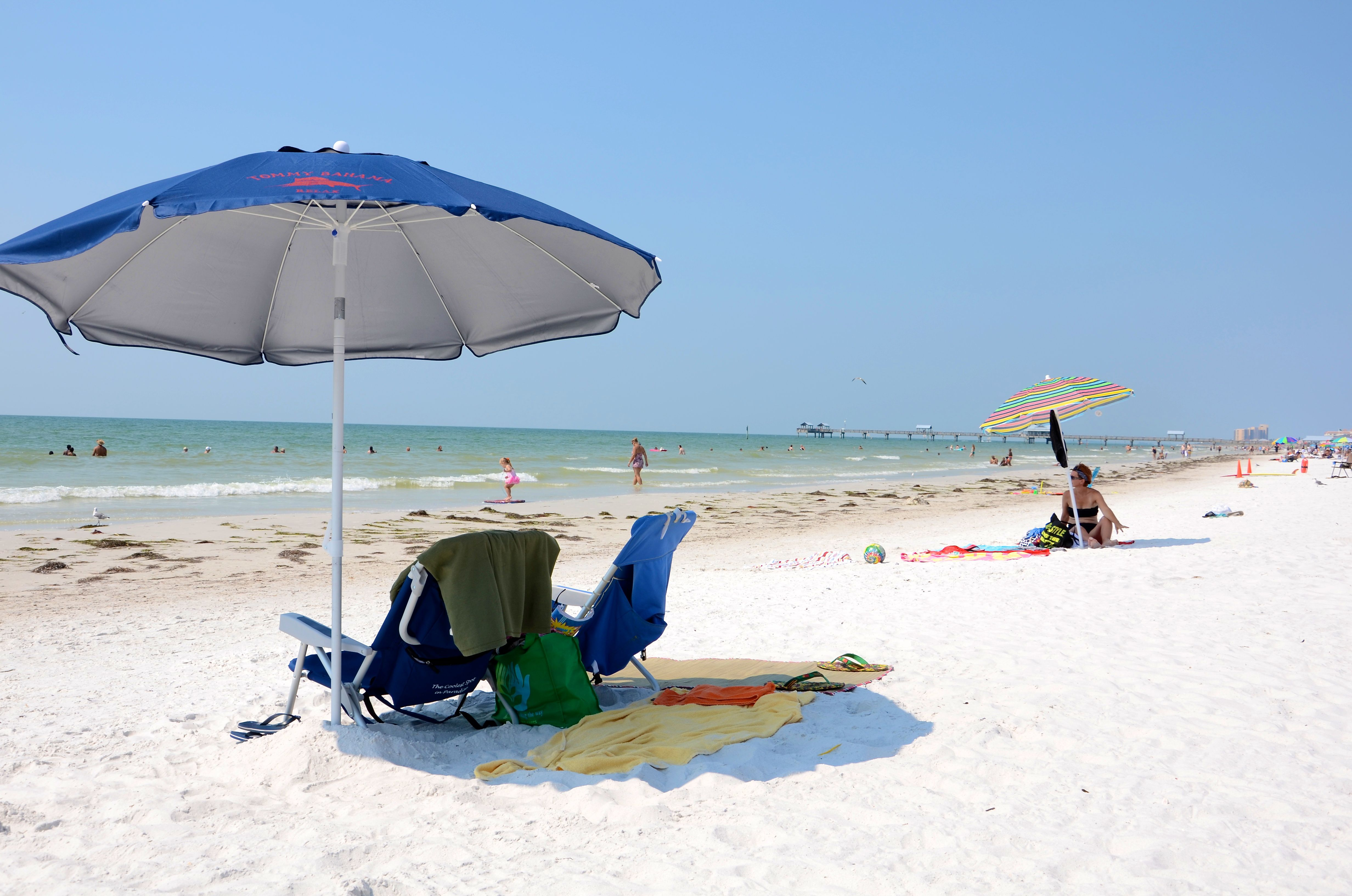 Average Temperature And Rainfall Of Clearwater Beach