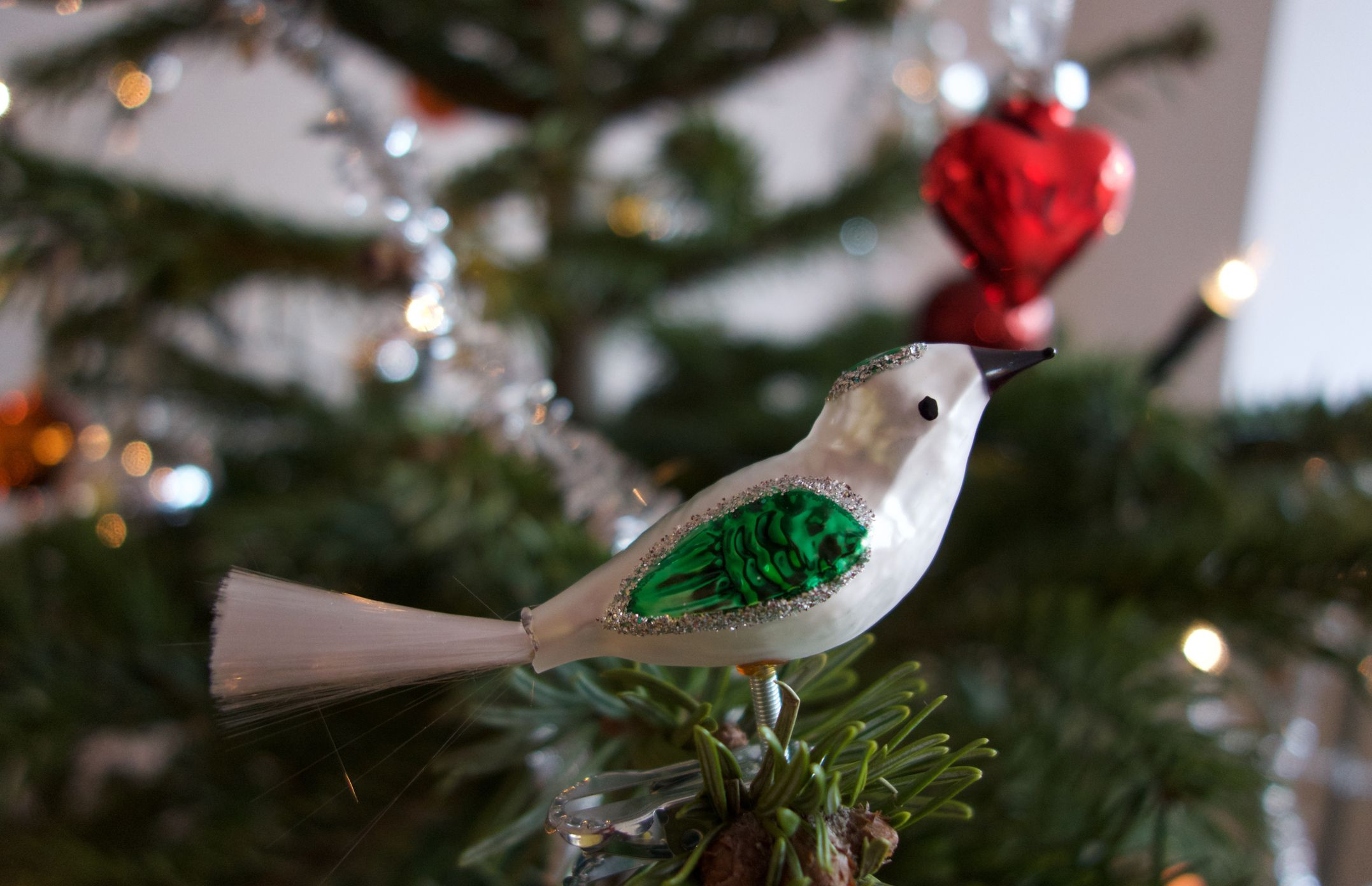 Christmas Tree Ornaments Birds