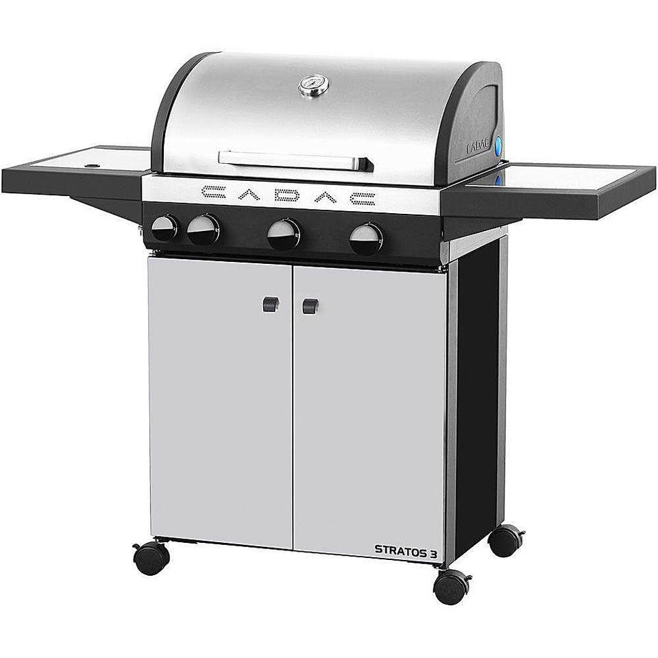 Cadac Stratos 3-Burner Stainless Steel Gas Grill
