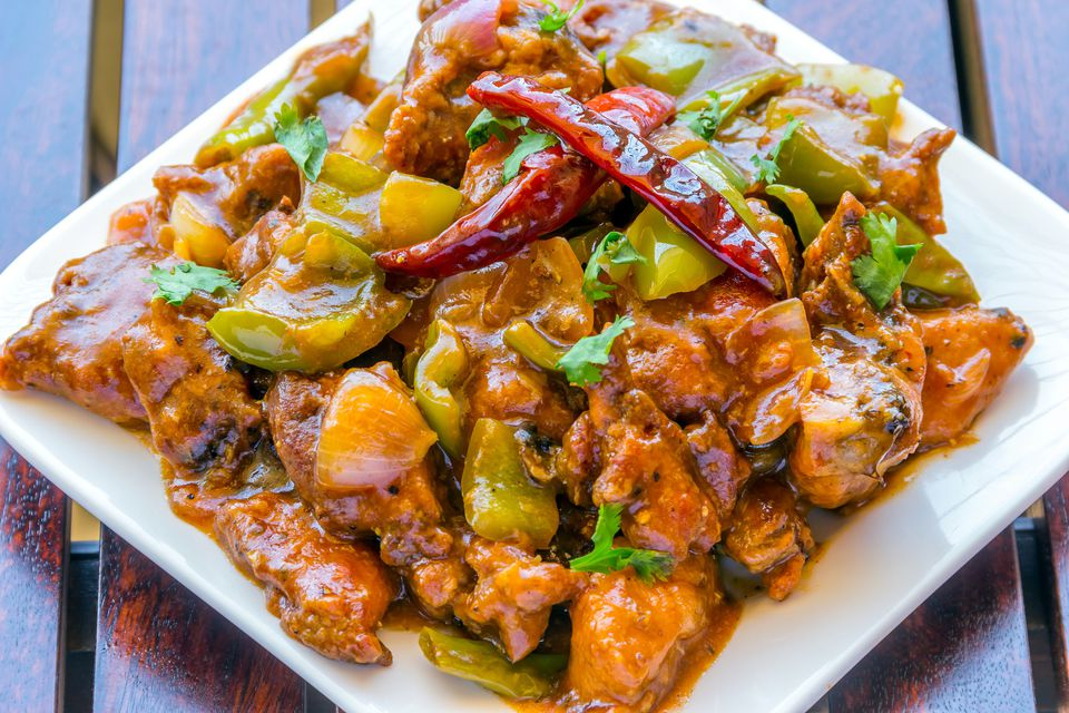 Hot and Spicy Chinese Chicken