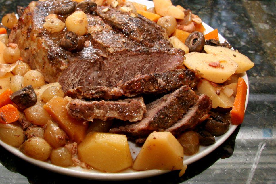 Harvest Pot Roast, Slow Cooker