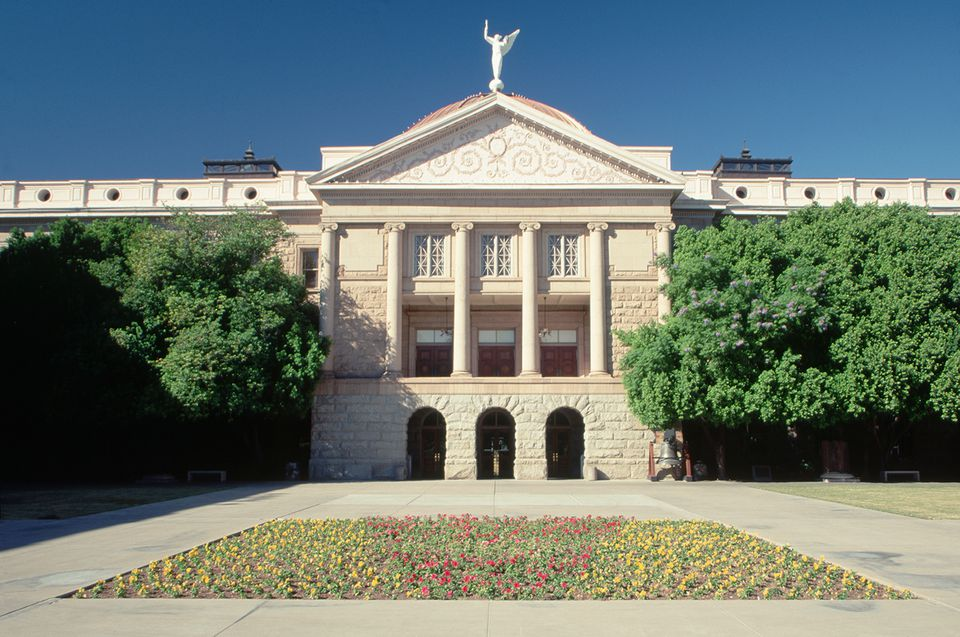 Facade of Arizona State Capitol