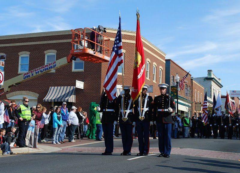 Veterans Day Parade 2017 In Manassas Virginia