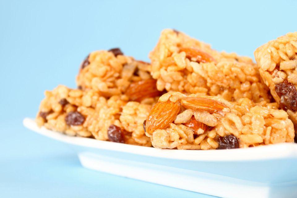 Treats with Nuts and Raisins