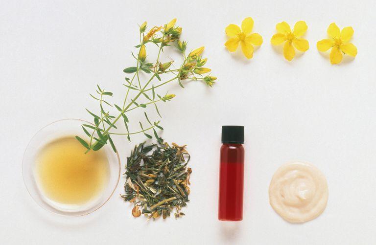 St. John's Wort herbal remedy