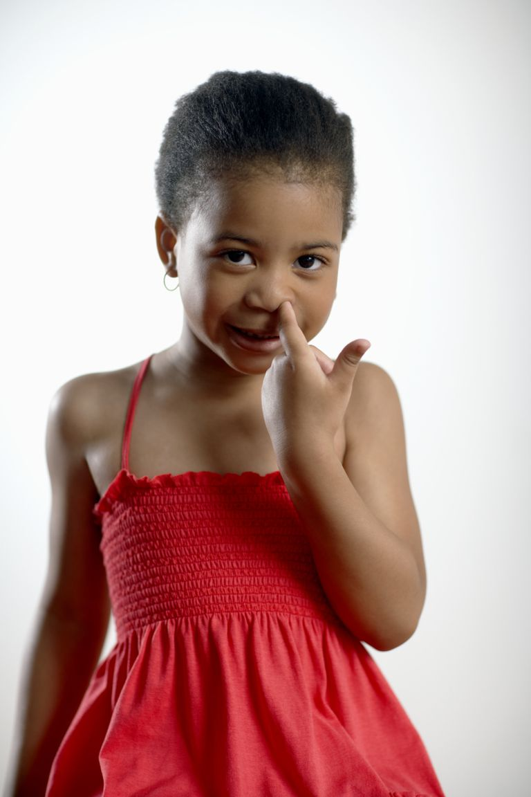 Nose picking in preschoolers is a common habit, but not one you have to accept.