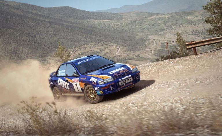 DiRT Rally screen 1