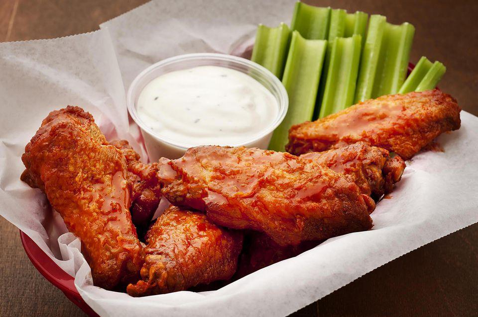 All-American Buffalo Chicken Wings