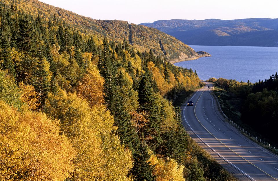 Canada, Newfoundland, Indian Summer in Gros Morne National Park, classifdied as World Heritage by UNESCO
