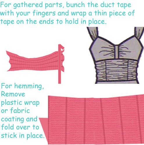 Duct Tape Prom Dress Ideas and Tutorial