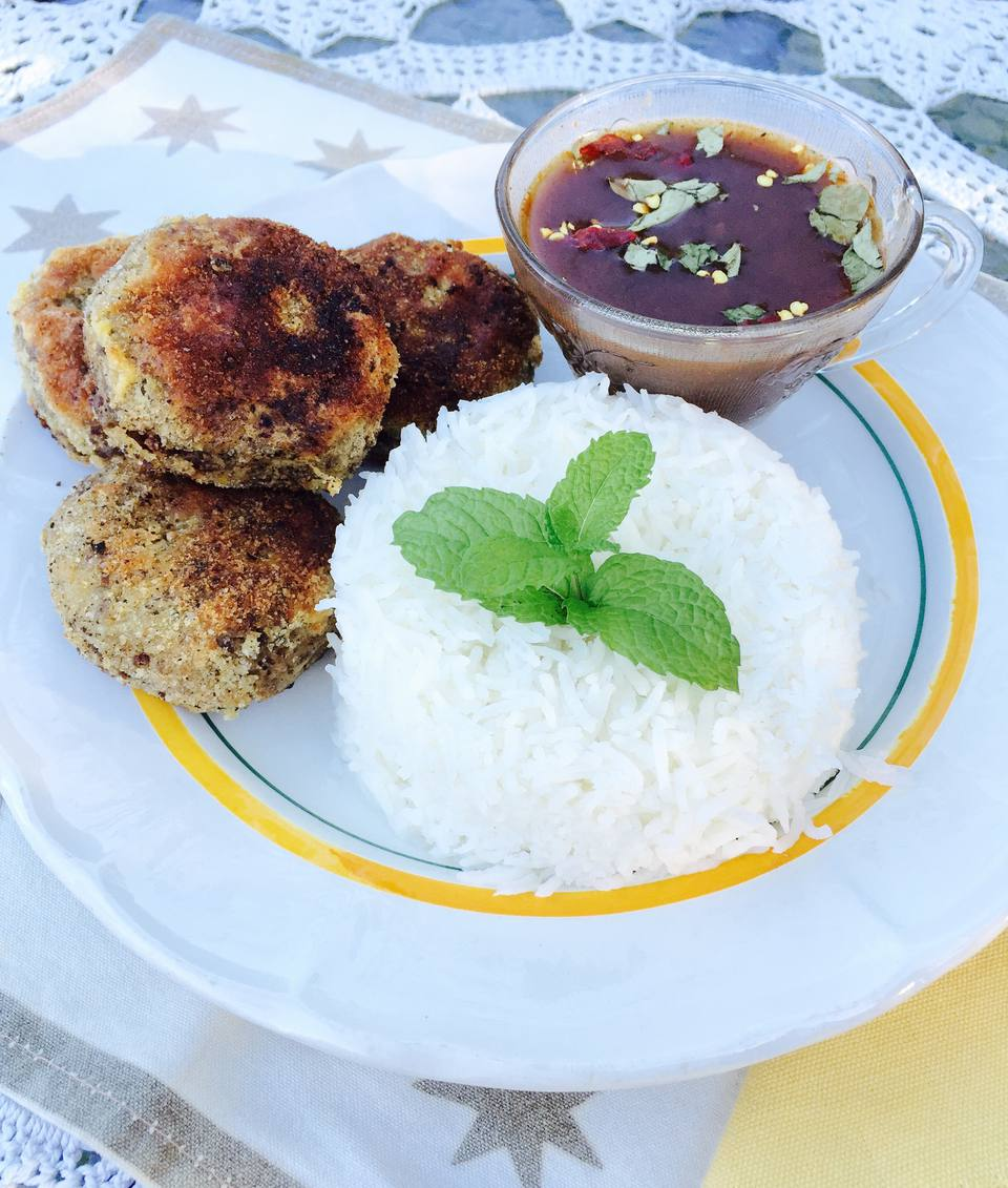 Mince and Potato Cutlets