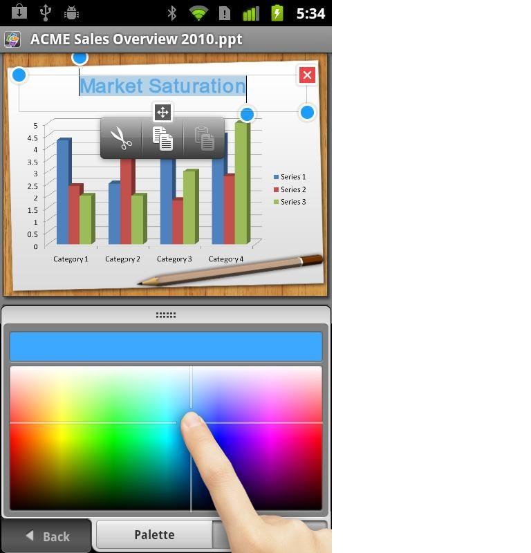 Smarphone y Excel