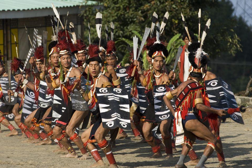Ao tribe of Nagaland.