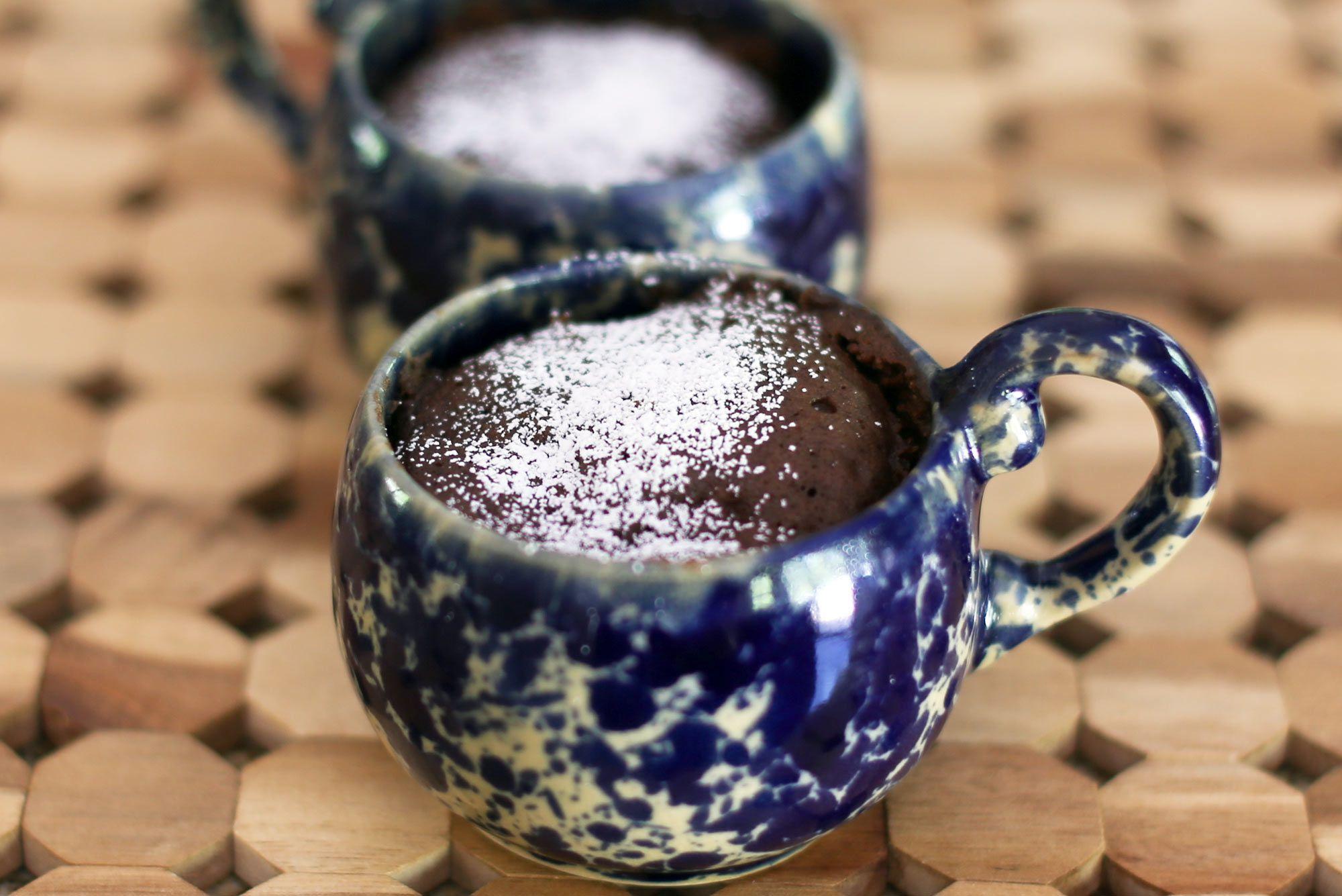 Wacky Chocolate Microwave Mug Cake Recipe