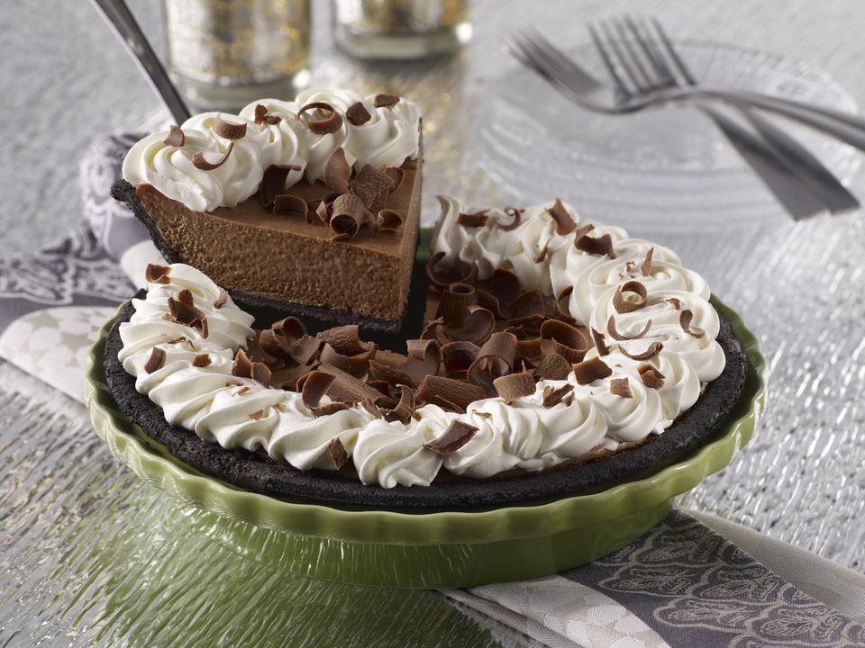 Chocolate Cheese Pie