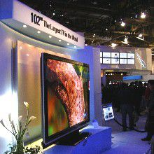 Samsung 102-Inch Plasma TV