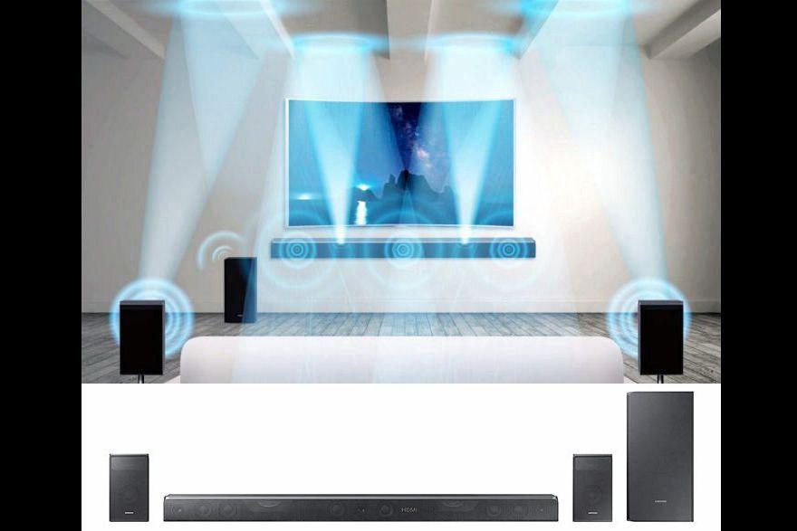 Samsung 39 S Hw K950 And Hw K850 Dolby Atmos Sound Bar Systems