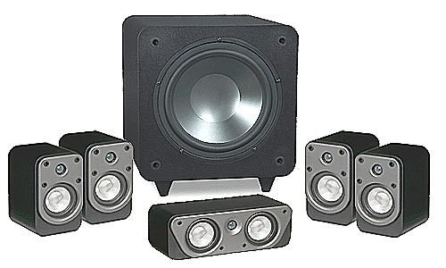 EMP Tek HTP-551 5.1 Home Theater Package