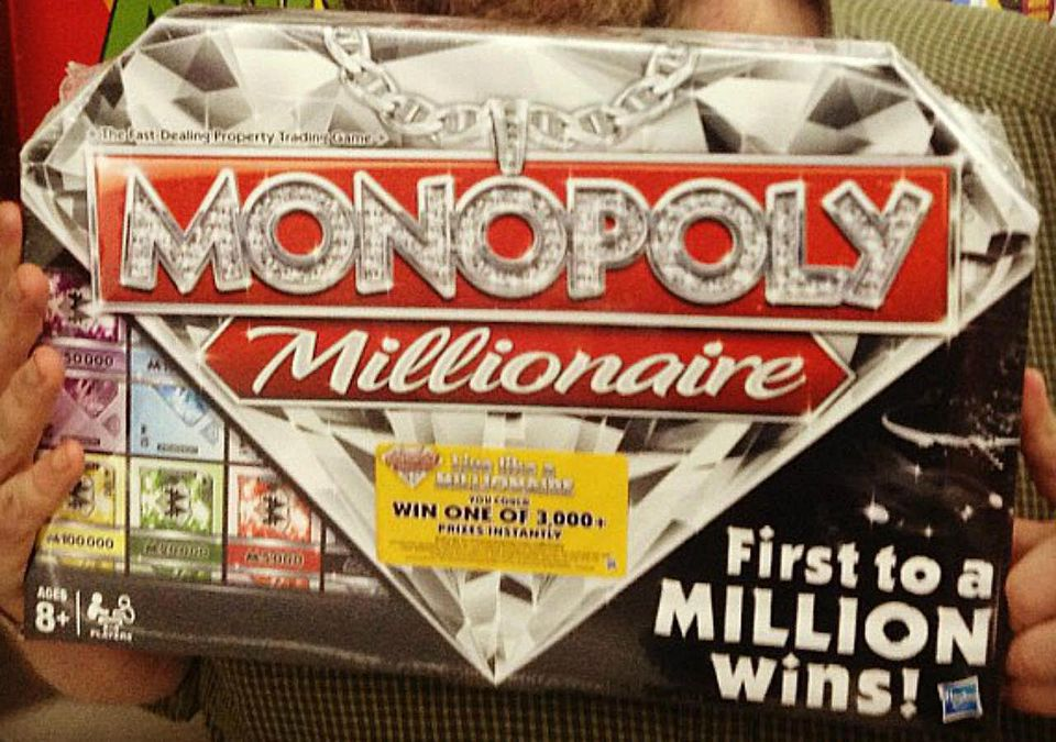 Bizarre New Monopoly Millionaire