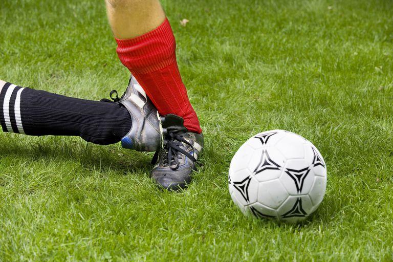 high ankle sprain