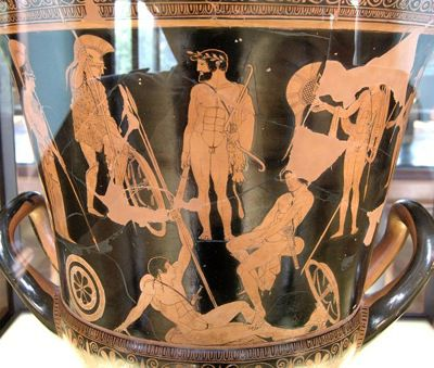 Heracles and the gathering of the Argonauts