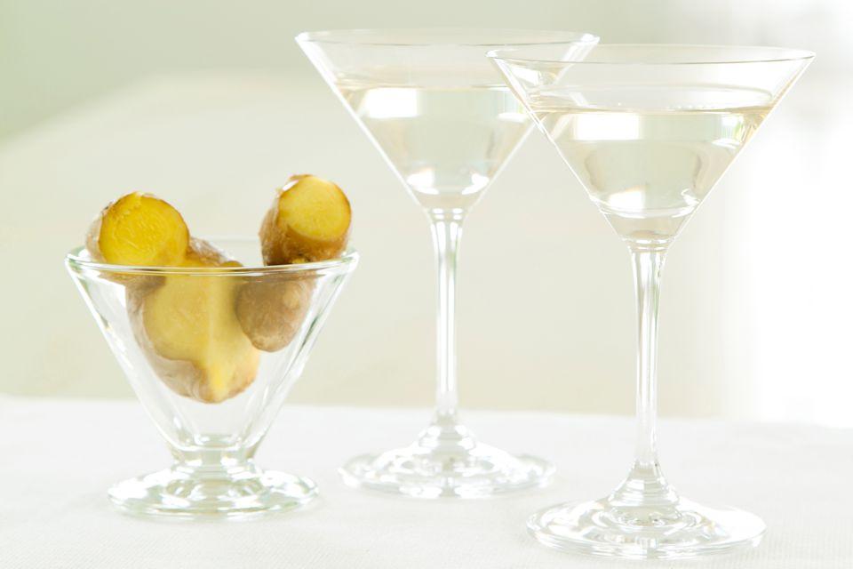 Ginger Martinis