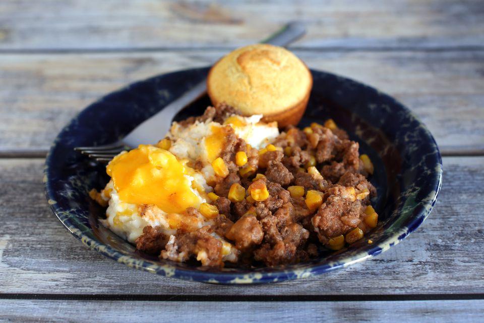 slow cooker hamburger and potato casserole