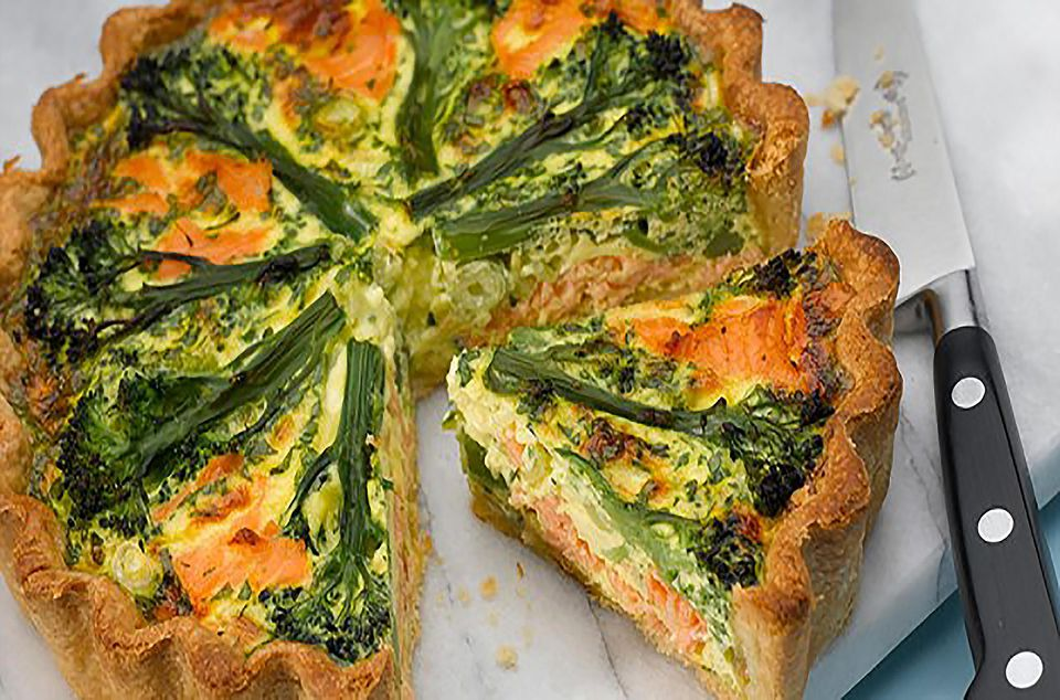 tenderstem-and-salmon-tart