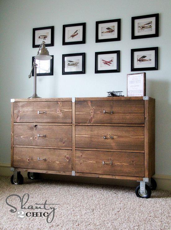 DIY Dresser Plan from Shanty 2 Chic