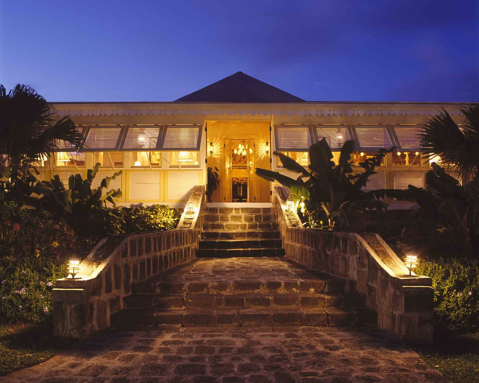 Great House at Nisbet Plantation, Nevis