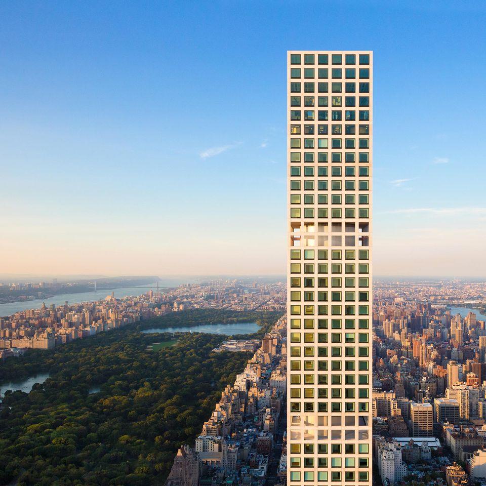 NYC's matchstick building, 432 Park Avenue