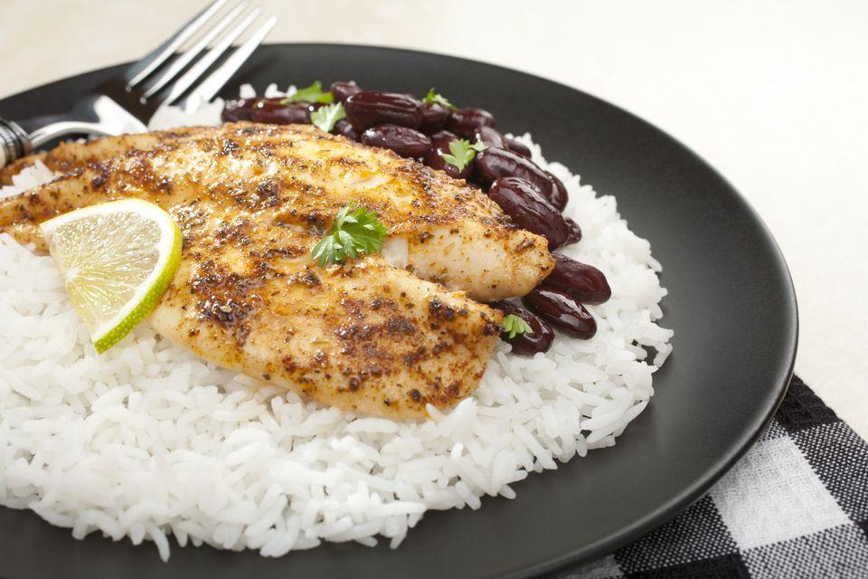 Fish with Spicy Creole Cajun Rub