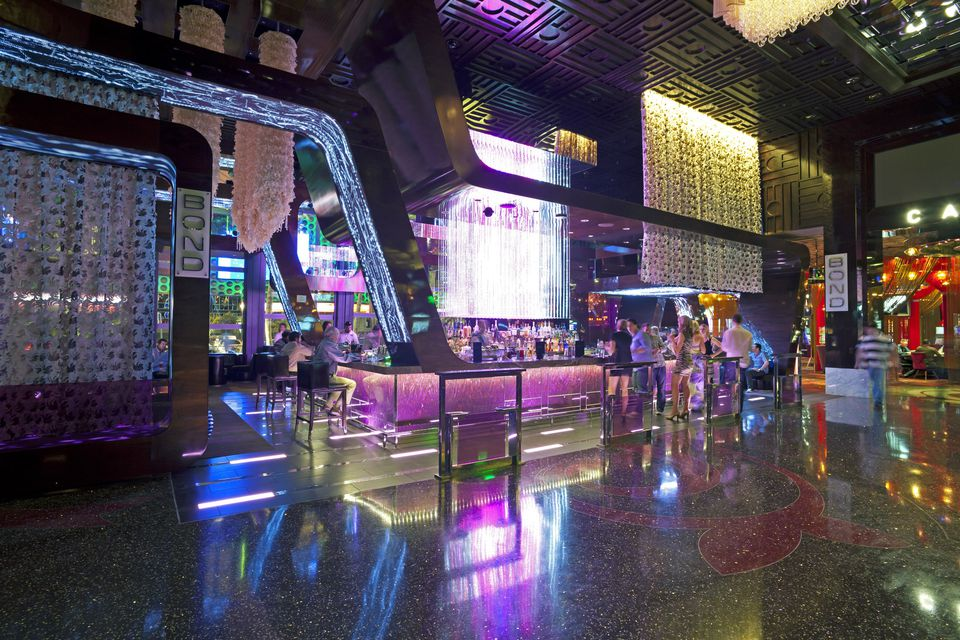 Las Vegas, Bar interior along the Strip
