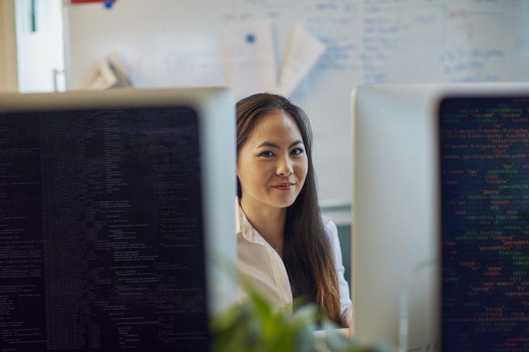Chinese Female Programmer