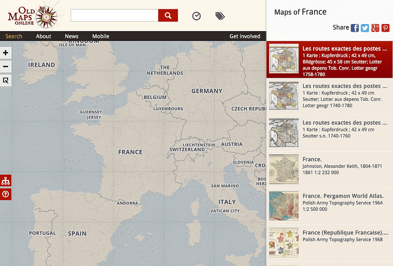 10 dont miss historical map collections online gumiabroncs Choice Image