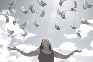 Receiving abundance from the universe
