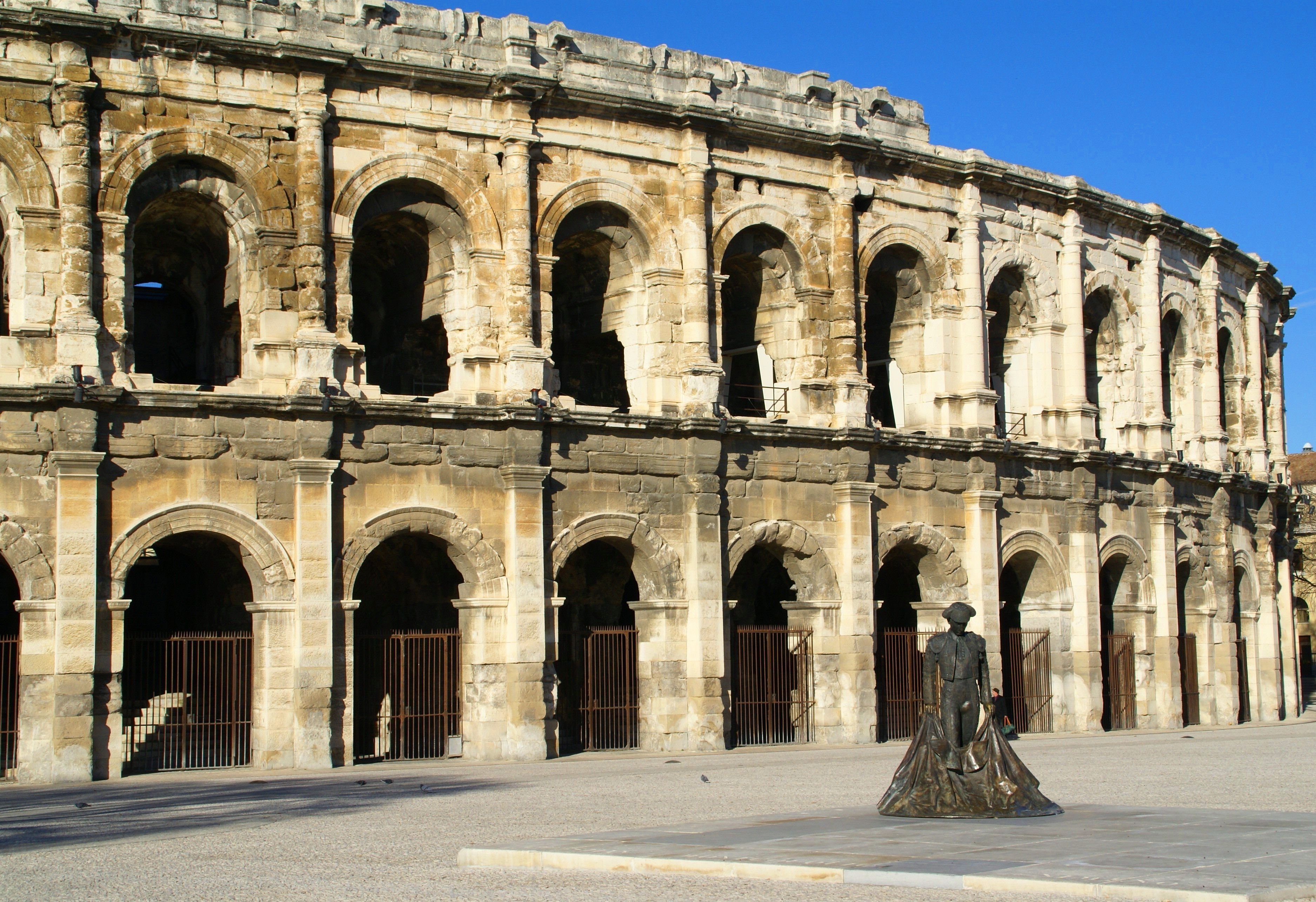 the top roman cities and ancient sites in france