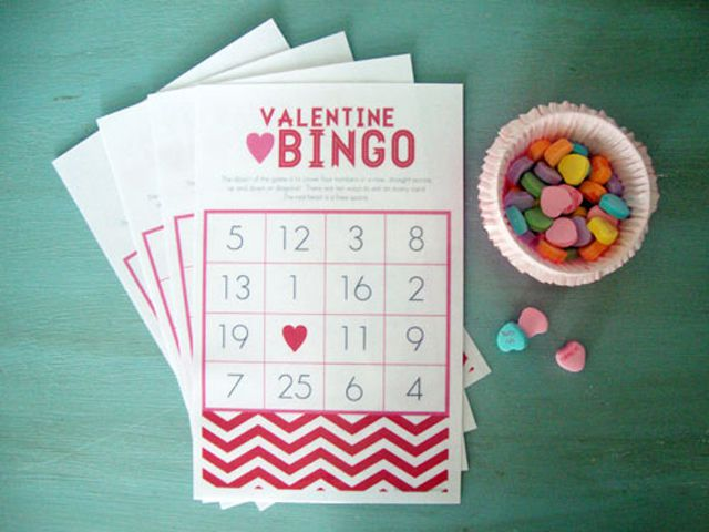 libbie grove design printable valentine bingo cards - Valentine Bingo Cards