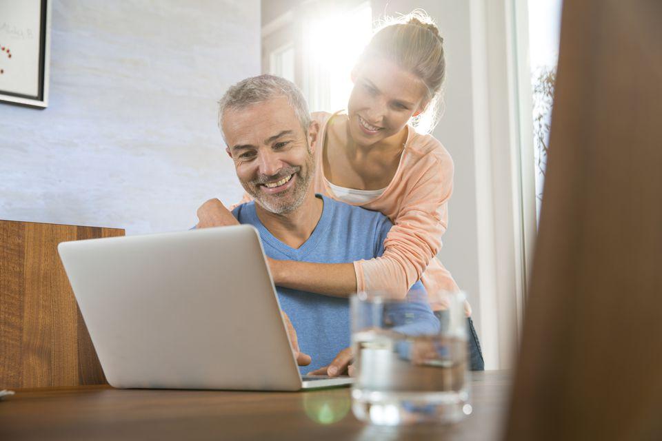 Work Life Balance Couple