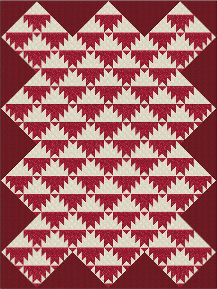 Delectable Mountains Quilt Pattern