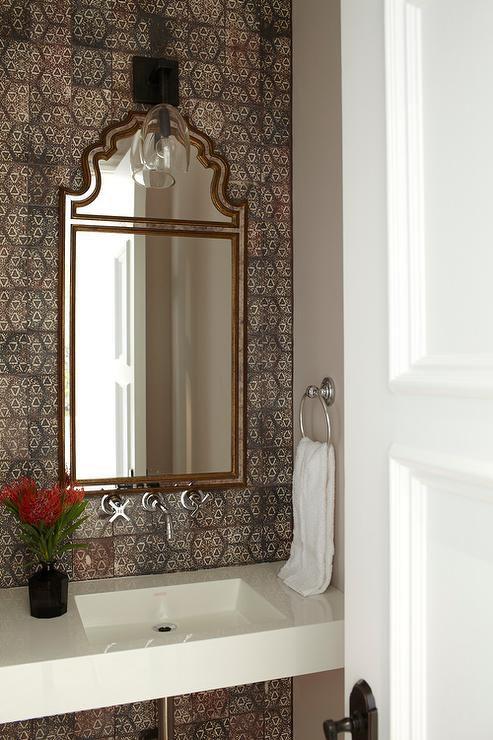 50 beautiful bathroom ideas for Moroccan style bathroom accessories