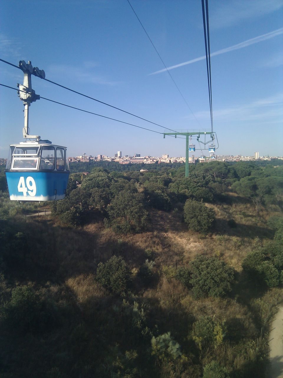 Teleferico (Cable Car) in Madrid