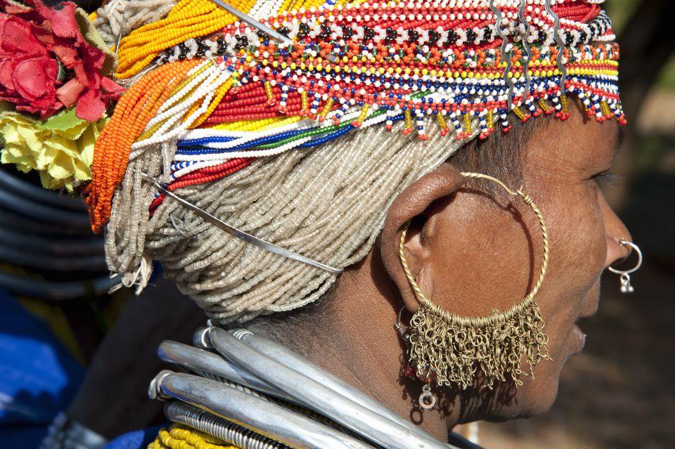 Odisha Bonda tribe.